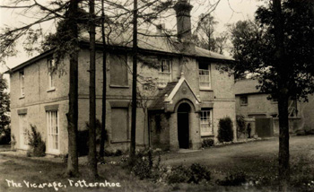 The Vicarage about 1910 [Z1306/127]